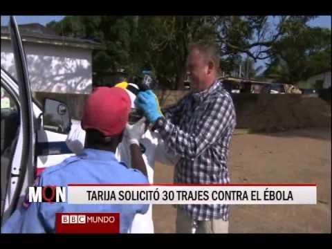 29/10/14 14:32 TARIJA SOLICITÓ 30 TRAJES CONTRA EL ÉBOLA