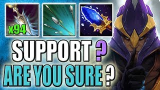Double Upgrade Focus Fire + Glaives of Wisdom [Super Fast Intelligence Steal] Dota 2 Ability Draft