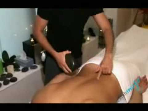 Hot Stone Massage Demo