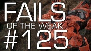 Halo 4 - Fails of the Weak Volume 125 (Funny Halo Bloopers and Screw-Ups!)