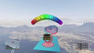 Grand Theft Auto V - car parachuting