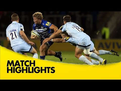 Sale Sharks Vs Worcester Warriors - Aviva Premiership 2015/16