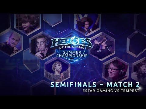 Tempest Vs EStar Gaming - Game 1 - Semifinals - Global Summer Championship