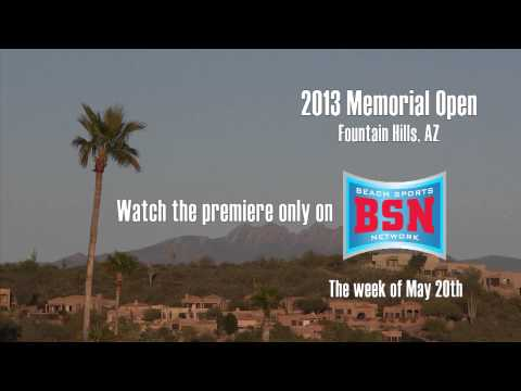 Disc Golf - Beach Sports Network 2013 Season Premier Promo