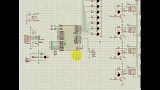 Control circuit devices using  ATMega16, using remote sony