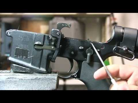 How does a Machine Gun Work. Full Auto AR15 Explained M4. M16