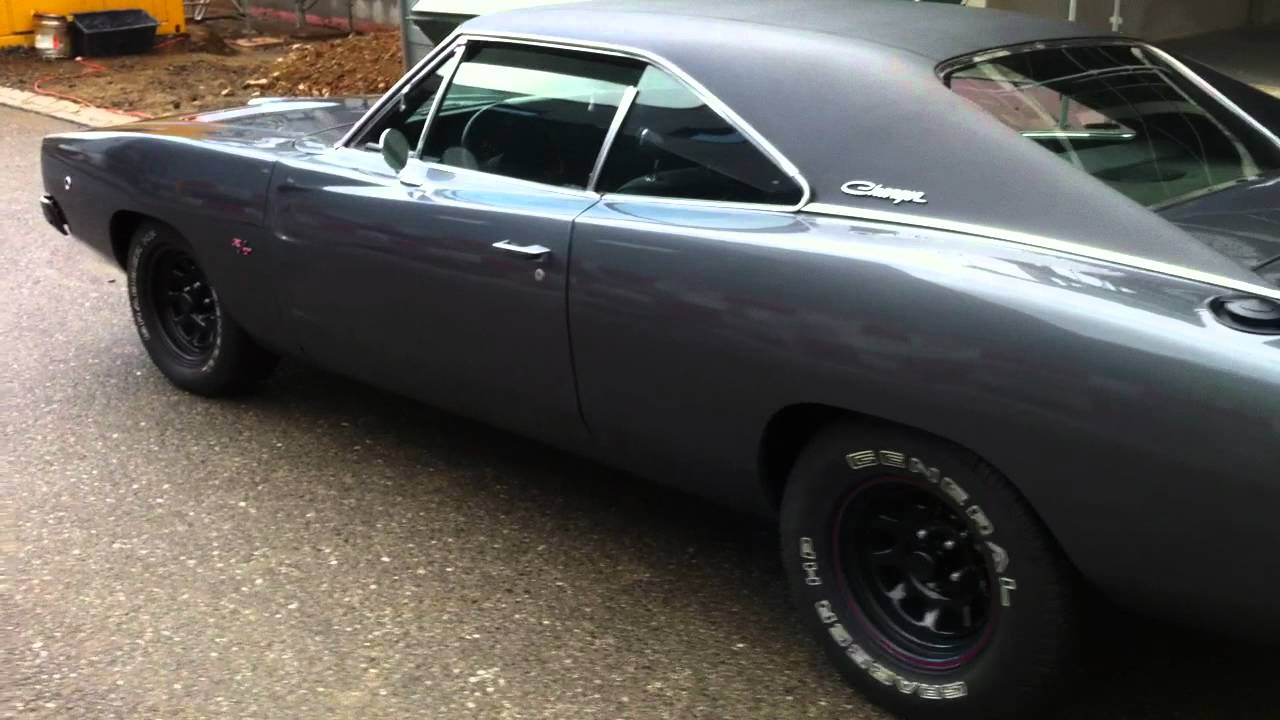 Dodge Charger 1968 440 R T Youtube