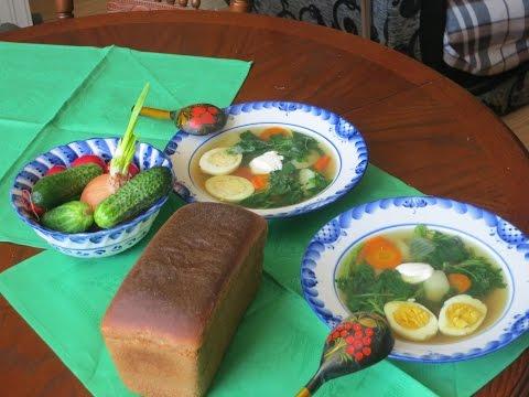 Весенний витаминный суп. Рецепт:легкий крапивный суп.