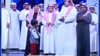 """سلطان ابن شهيد الوطن """" محمد العنزي """" يتمنى التصوير مع لاعب الهلال ناصر الشمراني"""