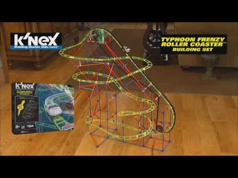k nex corkscrew coaster instructions