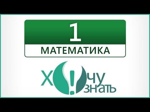 Видеоурок 1 по Математике Подготовка к ГИА 2012