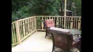 Deck Maintenance: Power-washing & Painting
