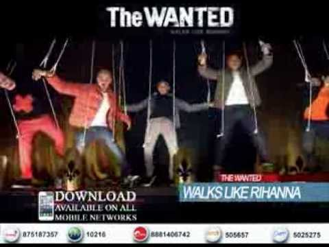 Walks Like Rihanna - The Wanted Sri Lankan Ringtone Trailer