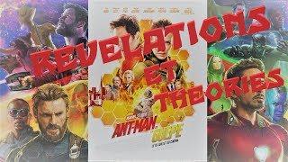 Révélations et théories / Ant-man 2 et Avengers 4