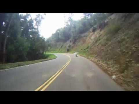 Surfin the Berkeley hills