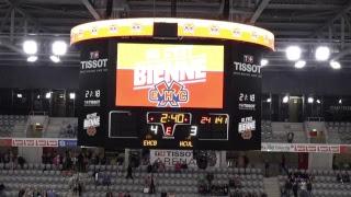 LIVE Testspiel 2017: EHC Biel-Bienne : HC Litvinov (CZE, Extraliga)