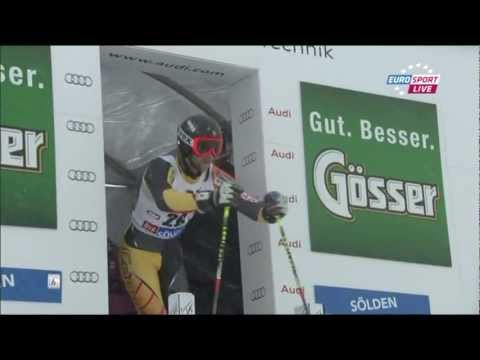 Ski World Cup (Soelden 2012) Giant Slalom Men 2nd Run