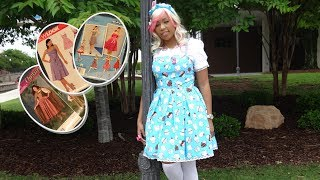 How to find a pattern that works for a lolita JSK