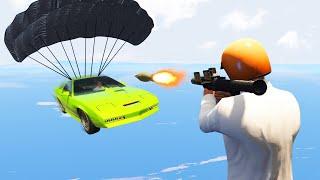 TAKE DOWN THE JAMES BOND CARS CHALLENGE! (GTA 5 Funny Moments)
