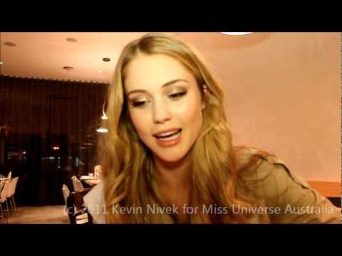 Miss Universe Australia 2011 Scherri-Lee Biggs' Facebook Message