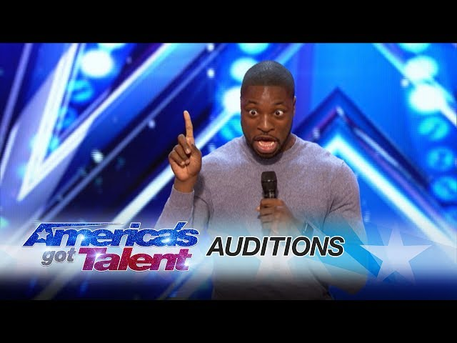 Preacher Lawson Standup Delivers Cool Family Comedy - Americas Got Talent 2017