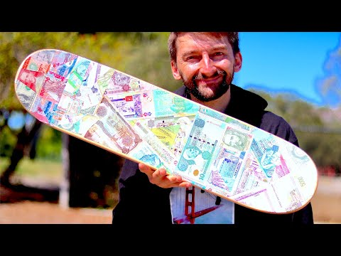SKATING ON CURRENCY GRIP TAPE?!? | YOU MAKE IT WE SKATE IT EP. 219