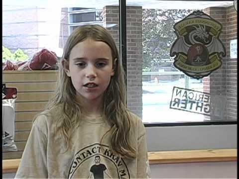 11yo Girl Testimonial on Krav.