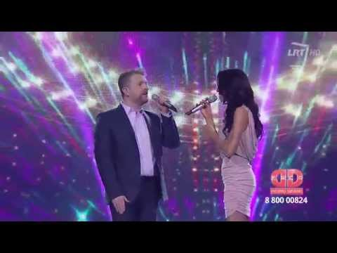 "LRT projektas ""Dainų daina"": Deivydas Zvonkus ""Būsiu ten, kur būsi tu"""