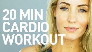 No Equipment Cardio Workout - 20 Minutes