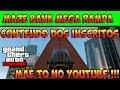 GTA V ONLINE - CONTEÚDO DOS INSCRITOS - MAZE BANK MEGA JUMP - MÃE TO NO YOUTUBE - GTA 5 ONLINE