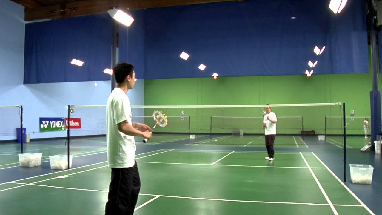 Drop Shots in Badminton Drop Shot in Badminton