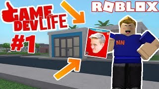 I MADE MY OWN GAME! - Roblox Game Dev Life #1