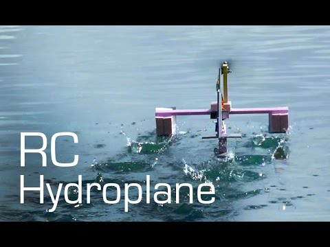 RC Foam Hydroplane - RCTESTFLIGHT