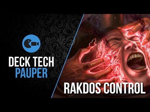 Deck Tech  Rakdos Control Pauper