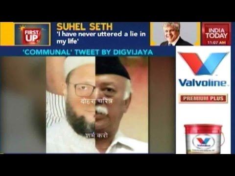 Digvijay Singh's Controversial Tweet Angers Hindu, Muslim Groups