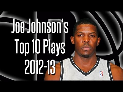 Joe Johnson's Top 10 Plays 2012-13