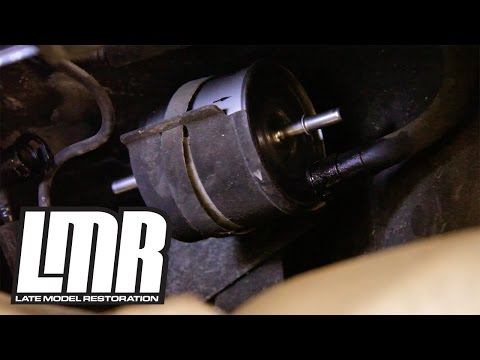 Mustang Fuel Filter Install Replacement (83-97) FG-800A