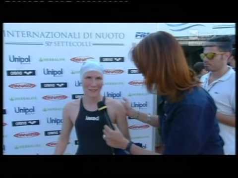Cecilia Camellini al 50° Trofeo Settecolli 2013