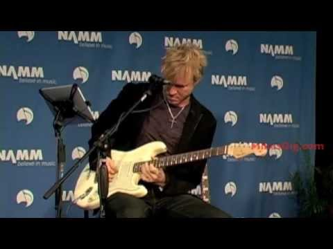 Kenny Wayne Shepherd at NAMM 2012 | MikesGig.com