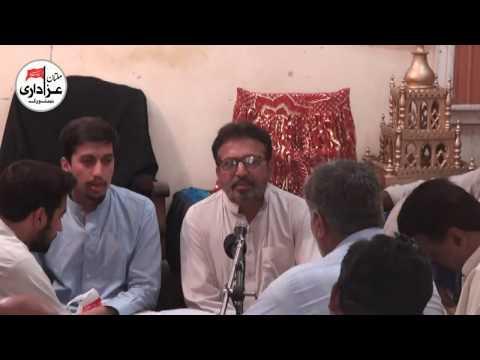 Noha Khawan Munir Ahmad Faryad | Majlis 11 Zilhaj 2017 | Nohay  |