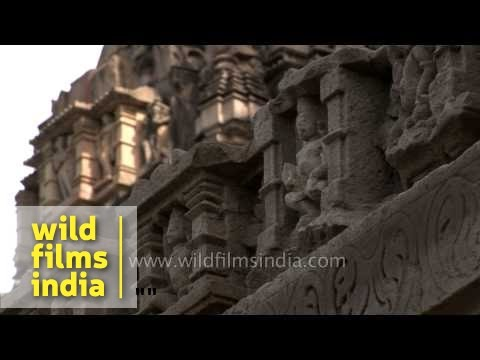 Khajuraho - Erotic Temples Of India, Madhya Pradesh video