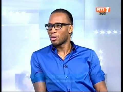 Le footballeur Didier Drogba est l'invité du journal télévisé