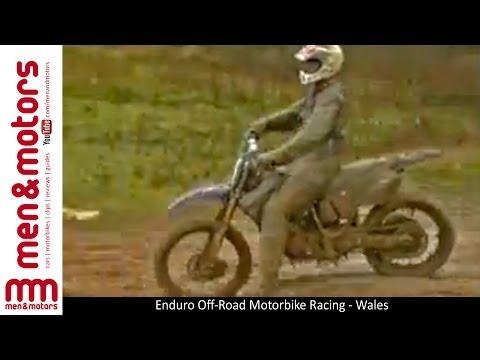Enduro Off Road Motorbike Racing   Wales