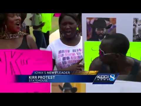 Sudanese protest President Salva Kiir visit to the U.S.
