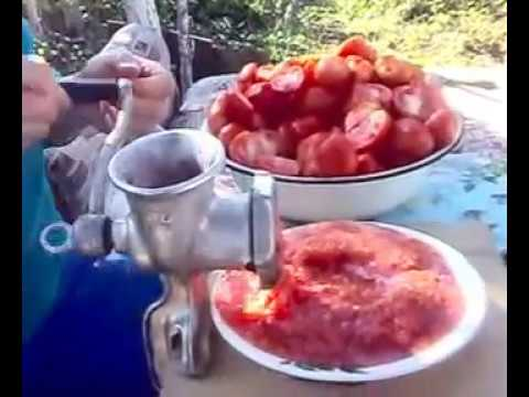 Как приготовить ХРЕН с помидором и чесноком.avi
