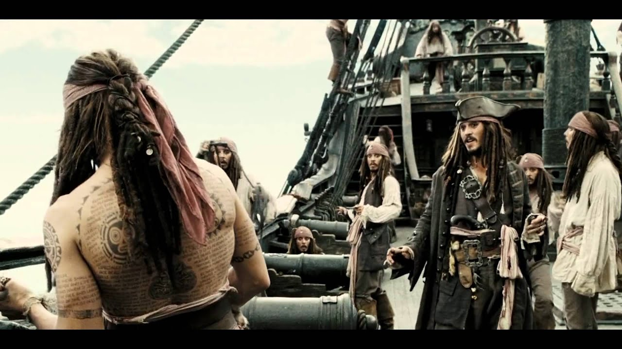 Пираты карибского моря татуировки фото