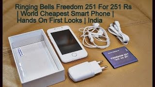 Freedom 251 Ringing Bells For (251 Rs) | World Cheapest Smart Phone ?| Hands On First Looks | India