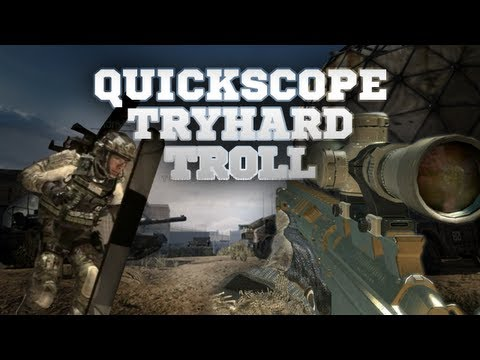 TRY HARD QuickScope Trololol!