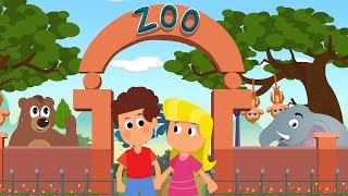 Going To The Zoo Nursery Rhyme