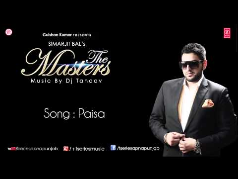 Watch Paisa Song by G.Sonu || The Masters Album